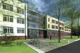 Powstają fundamenty nowej części siedziby szkoły przy ul. Druskienickiej