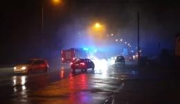 Pożar sadzy w domu przy ul. Strzeszyńskiej