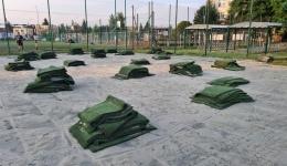 Trwa modernizacja boisk na terenie szkoły