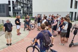 Defabrykacja – udany spacer edukacyjny po Podolanach