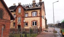 Pożar przy ul. Biskupińskiej