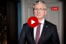 [Wideo] Spotkanie prezydenta z RO Podolany